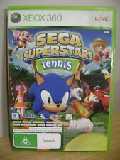 Sega Superstars Tennis..Xbox Live Arcade Compilation Disc.XBOX 360..FREE POST AU