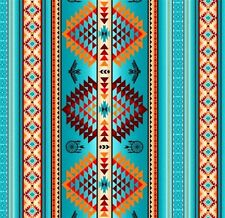 Tucson Southwest Aztec Dream Catcher Eagle Turquoise Cotton Fabric Fat Quarter