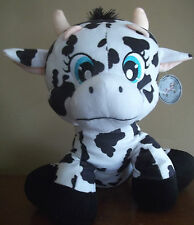 HOLSTEIN COW bull dairy PLUSH STUFFED animal TOY CALF gift w/ tag