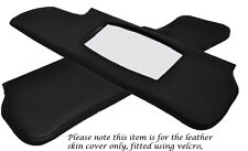 BLACK STITCH FITS TRIUMPH SPITFIRE GT6 62-80 2X SUN VISORS LEATHER COVERS ONLY