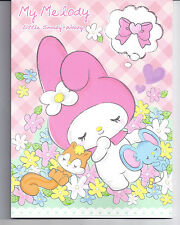 Sanrio My Melody Staionery Writing Pad Pink Dreaming