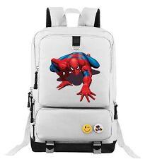 Spiderman Backpack School Bag Children Student Boys Girls