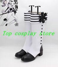 Kuroshitsuji Black Butler Charles Grey Charles Gray Cosplay Shoes Boots shoe 22