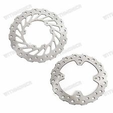 Front & Rear Wave Brake Disc Rotor for Honda CRF450R 2002-2014,CRF450X 2004-2015