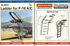 Plus Model - Ladder for F-16A/C Leiter für Modell-Bausatz 1:48 NEU OVP tipp kit