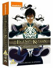 THE LEGEND OF KORRA 1-4 DVD COMPLETE SERIES BUCH 1 2 3 4