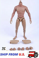 ZC TOYS 1/6 Muscular Nude Figure Body For Hot Toys TTM19 Fit Wolverine Head USA