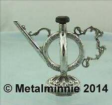 ANTIQUE SOLID SILVER AROMATIC OILS VESSEL PERSIAN ?