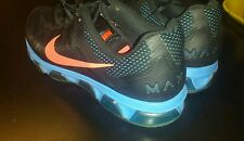 Nike Air Max Tailwind 7 Men's BLACK BLUE ORANGE size M13 CLASSIC