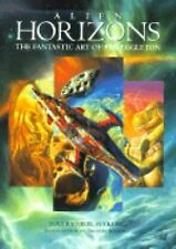 ALIEN HORIZONS THE FANTASTIC ART OF BOB EGGLETON SCIENCE FICTION ART SOFTCOVER
