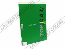 TOP QUALITY - BLOCK NOTES - A4 - QUADRETTO 5 mm - 1 PEZZO - COPERTINA VERDE