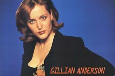 GILLIAN ANDERSON POSTER ~ SEXY AGENT SCULLY 24x36 X-Files Pinup