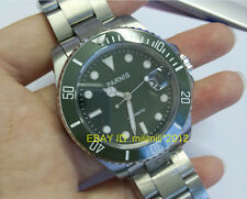 Parnis 40mm submariner style green Ceramic Bezel green dial Automatic watch