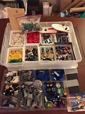 Lego 6+ Lb Lot Bricks Unsorted: wheels minifigures plates 100's of pieces