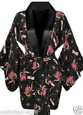 Agent Provocateur silk Dragonfly Kimono M L honeysuckle & spiders Damsella NEW
