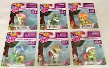 NEW My Little Pony Friendship is Magic Sweet Apple Acres Set of SIX Ponies 3+