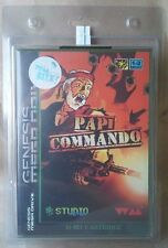 Papi Commando Limited Edition Release Sega Genesis Brand New Sealed