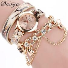 luxury heart pendant women watches women bracelet watch women wristwatches