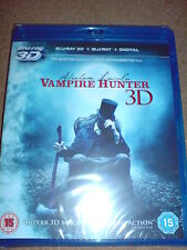 ABRAHAM LINCOLN - VAMPIRE HUNTER - BLU-RAY 3D + BLU-RAY NEW