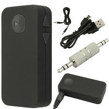 Portable Car Speaker Bluetooth Wireless Music Audio Receiver With Stereo Output