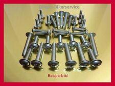 BMW R1100S  R 1100 S Edelstahl Schrauben Verkleidung Edelstahlschrauben 52 Teile