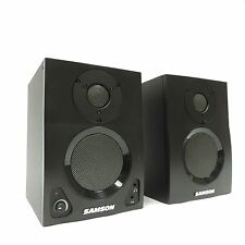 Pair of Pre-Owned Samson MediaOne BT3 Active Studio Monitors with Bluetooth