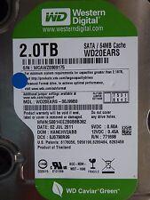 2TB Western Digital WD20EARS-00J99B0 | DCM: HANCHV2ABB | 02 JUL 2011