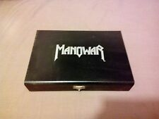 Manowar - Warriors of the world Wooden box Limited Edition