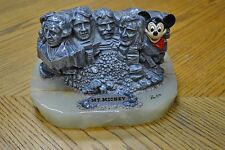 Disney Ron Lee Mt Mickey Onyx Base Statue Sculpture Limited Edition SIGNED NBRED