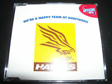 Were A Happy Team At Hawthorn Football Club Rare AFL Footy Early Song CD Single