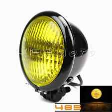 Bates Style Front Light Headlight Lamp for Harley Bobber Chopper Sporter New