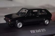 VW Golf I GTI 1976 schwarz 1:43 Norev neu & OVP 840078