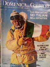 LA DOMENICA DEL CORRIERE 1 aprile 1969 Carlo Mauri Antartide Vittorio Emanuele