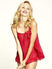 Knickerbox Lola Red Chiffon Cami & Thong Set 10 *TEN SETS*