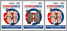 Yamaha XT660 Z Tenere 08-11 Full Set Front & Rear Brake Pads (3 Pairs)