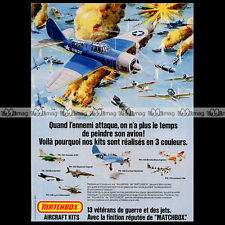 MATCHBOX Lesney Aircraft Kits PK-104 CURTISS HELLDIVER 1975 - Pub / Ad #A908