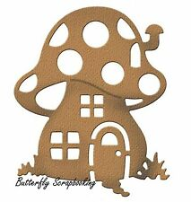 MUSHROOM HOUSE Die Craft Steel Die Cutting Die Cottage Cutz CCE-214 New