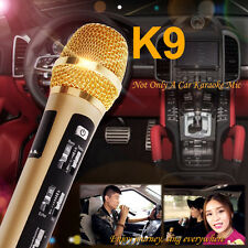HOT K9 Car KTV Karaoke FM Wireless Dynamic Microphone Mic For Iphone IOS Android