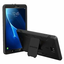 Black For Galaxy Tab A 10.1 Premium Rugged Protection Hybrid KickStand Case
