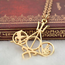 Mortal Instruments Harry Potter Hunger Games Combined Movie Necklace XMAS Gift