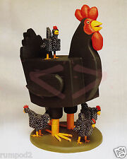 Folk Art/ Print/Poster/Roosters/Hens/Chickens/16x20 inch