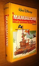WALT DISNEY-MANUALONE DELLE GIOVANI MARMOTTE-CLUB GIOVANI - EUROCLUB -1a ED-1985