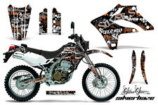 KAWASAKI KLX 250 Graphic Kit AMR Racing Decal Sticker Part 04-07 SHO