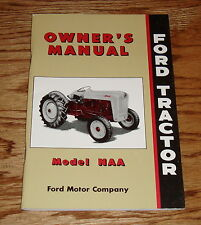 1953 1954 1955 Ford Tractor Model NAA Owners Operators Manual 53 54 55