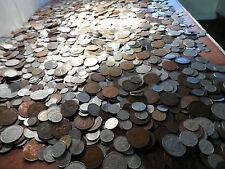 Gran Lote De 300 Mundo Inglés británico coins.big a granel monedas mezcladas