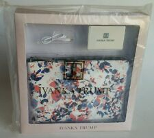 NWT Ivanka Trump RIO FLORAL LEATHER Tablet Cover/Clutch Purse w/ Charger Set NEW