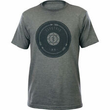 Electric Chase Short Sleeve Tee T-Shirt (M) Charcoal