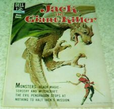 Jack the Giant Killer 12-374-301, VF (8.0) 1963 Dell File Copy 40% off Guide