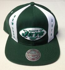 NFL New York Jets Mitchell and Ness Panel Down Snapback Cap Hat M&N NE32Z NEW!