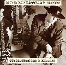 Stevie Ray Vaughan - Solos Sessions & Encores [New CD]